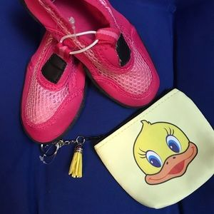 """Other - """"NWOT"""" Toddler Pink Size M 7/8 Pool/Water/ Shoes"""